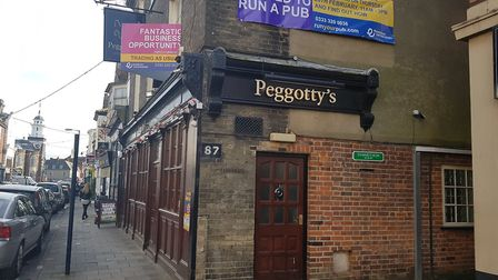 Peggotty's in King Street, Great Yarmouth, is being advertised as a fantastic business opportunity P