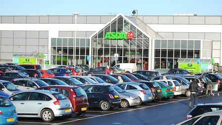 The Asda store in Great Yarmouth.Picture: James Bass