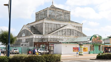 Great Yarmouth Borough Council is hoping to secure the long-term future of the Winter Gardens. Pictu