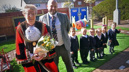 The opening of the new £30,000 Great Yarmouth Primary School playground. PICTURE: Jamie Honeywood