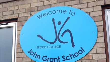 The county council wants to build 19 homes on part of the John Grant School's playing field Picture: