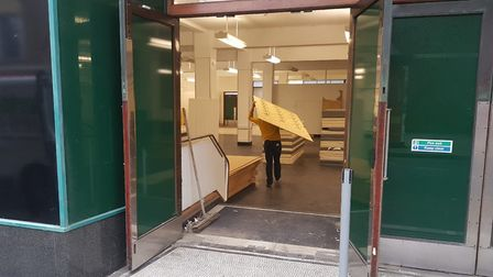 The former M&S store in Great Yarmouth is re-opening as a temporary gallery Picture: Archant