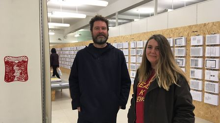 Kaavous Clayton and partner Julia Devonshire have set up a gallery showcasing the different ways pap