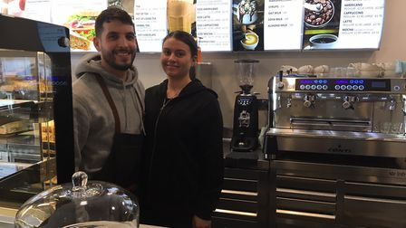 The couple have spent more than £10,000 on perfecting their coffee shop. Picture: Joseph Norton