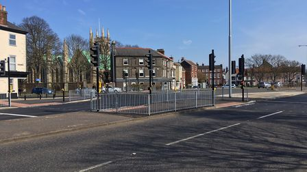 The work which has been completed in the Fullers Hill area. Picture: Joseph Norton