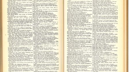 Pages from an old directory are providing a glimpse into a bygone world before supermarkets and onli