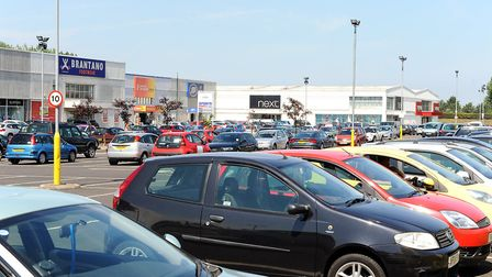 Gapton Hall retail park on the edge of Great Yarmouth.Picture: James Bass