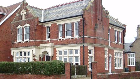 The home and surgery of Dr Archibald Anderson on Gorleston cliffs, pictured a few years ago.