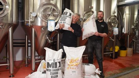 Norfolk Brewhouse in Hindringham teaming up with French brewers Northmaen Brewery to brew Amitie a s