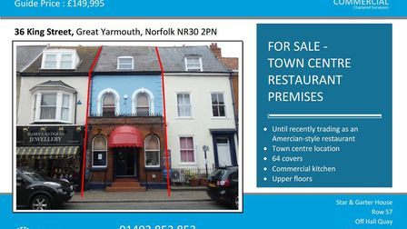 The former home of the Yankee Traveller is for sale with East Commercial Picture: East Commercial