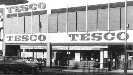 Savory's and Overill's premises were demolished so Tesco could build its supermarket on their site i