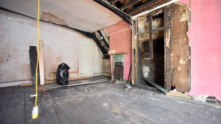 The former Thai restaurant has been stripped back by the preservation trust to reveal its timber fra
