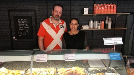 Antonio Sousa, 40, and Marta Pereira, 33, run a new bakery, Martha's Bakes & Cakes, on Northgate Str