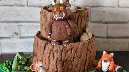 The Gruffalo cake which Ms Osborne made. Picture: Mocha