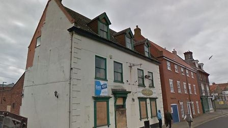 Homes are planned on the site of a former music pub in Great Yarmouth, a former Irish-themed bar Pic