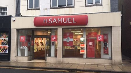 H Samuel is one of a number of major retailers which has closed in Great Yarmouth in recent years. P