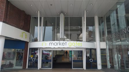 Market Gates is hoping to welcome a new American-style cafe Picture: Daniel Hickey.