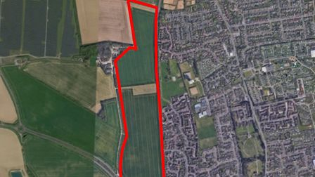 Persimmon Homes is looking to build 725 homes in Caister close to where it is already building 190 a
