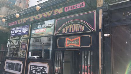 Uptown Bar in King Street, Great Yarmouth. Picture: Joseph Norton