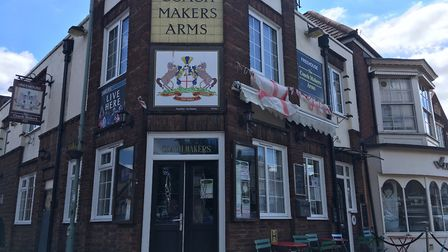 The Coach Makers Arms in Market Place, Great Yarmouth. Picture: Joseph Norton