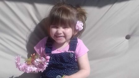 Ava-May Littleboy, who died after being thrown from a trampoline in Gorleston. Picture: Courtesy of
