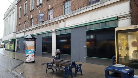 Marks and Spencer in King Street, Great Yarmouth, has been empty for four years Picture: Liz Coates