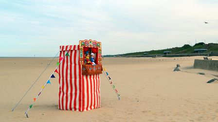 Punch and Judy is returning to the sands at Gorleston Picture: Daniel Hanton