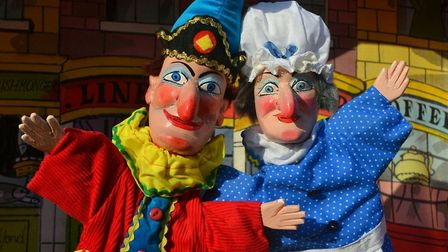 Dan Hanton wants to bring Punch and Judy back to Gorleston's sands Picture: supplied by Dan Hanton