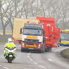 File picture of abnormal load passing through Norfolk and Suffolk. Picture: James Bass