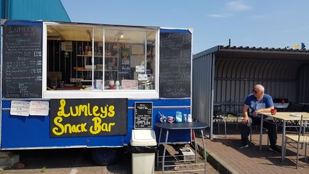 Paul Lumley, 62, is hoping to find a permanent spot for his burger van after being asked to leave a