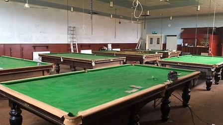 A high-end snooker offer is an important element of a new sports and leisure hub at the former Conse