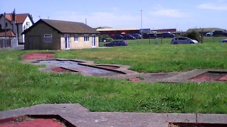 Pops Meadow on Gorleston riverside, currently unused but perhaps being brought back into use soon.