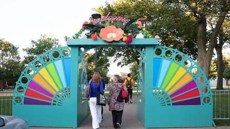 Scenes for previous Out There Festivals. This year's event is taking place over September 14 and 15