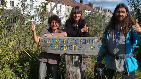 Community garden project 'Community Roots' was awarded £9,000 to introduce willow weaving workshops