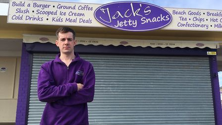 Jack Button has been overwhelmed by feedback from loyal customers after announcing he was having to