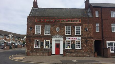 The St John's Head, a Grade II listed pub on North Quay in Great Yarmouth, is up for sale. Picture: