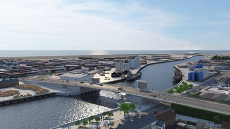 A raft of new pictures have been released as proposals for Great Yarmouth's third river crossing rea