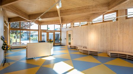 The new reception area at Wroughton Academies Picture: CET
