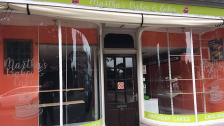 Martha's Bakes & Cakes in Great Yarmouth closed at the end of September. Picture: Joseph Norton