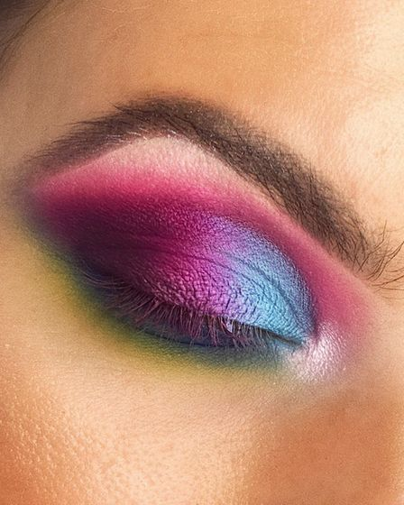Male beauty influencer Georgie Aldous has created a versatile make-up palette and his friend Jade Dy