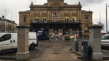 A flurry of building activity is going on at Great Yarmouth's former Royalty Cinema. It's new operat