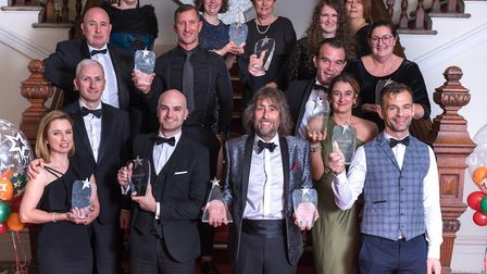 Spirit of Enterprise Awards Ceremony 2018. All the category award winners. Picture: James Bass Photo
