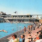 Sunshine and blue water: the outdoor bathing pool on the Golden Mile in 1976 Picture: Great Yarmouth