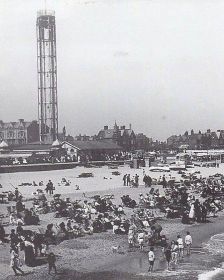 Highly ambitious...the Revolving Tower, an attraction until the 1939-45 war Picture: Mercury Library