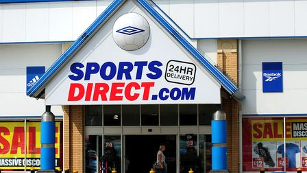 The Sports Direct store will open next year. Picture: Rui Vieira/PA Wire