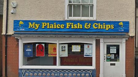 A bread roll was allegedly stolen from My Plaice Fish and Chips in Gorleston. Picture: Google Maps