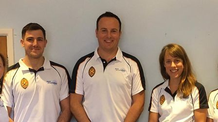 Richard Morford, 38, pictured in the middle, will run a new physiotherapy clinic on Estcourt Road in