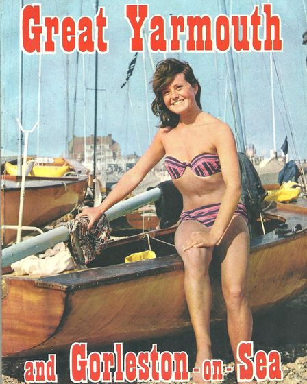 The front of the 1963 Great Yarmouth and Holiday Guide that caused controversy.