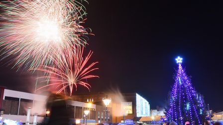 The Christmas shopping season will get under way in Great Yarmouth on Friday. Picture: James Bass