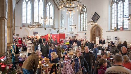 There will be a selection of craft, food and specialist gift stalls in the Minster. Picture: James B